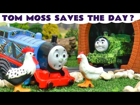 Tom Moss Toy Train Story with Thomas The Tank Engine