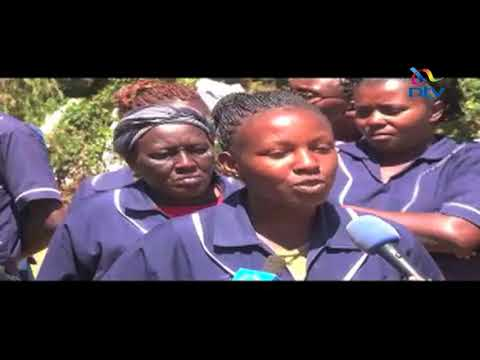 Subordinate staff at Nyeri Referral Hospital down tools over unpaid salaries