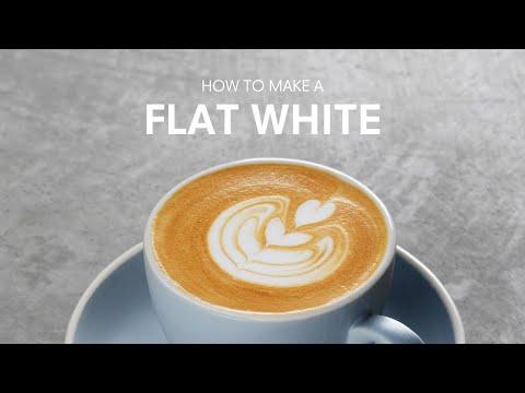 How to make a Flat White | Basic Coffee Skills
