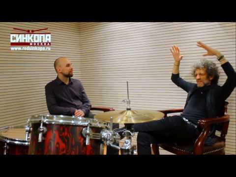 SINKOPA Moscow - Jojo Mayer interview 2016 October 15th