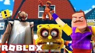 ¡CONSTRUYE PARA SOBREVIVIR! Roblox Escape The Monsters