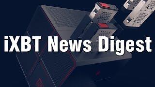 iXBT News Digest – стильные электронные устройства и будущее VR(Видеодайджест новостей iXBT.com от 22 августа 2016 года: Nvidia представила мобильные видеокарты GeForce GTX 1080, GTX 1070..., 2016-08-22T05:02:35.000Z)