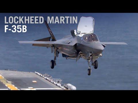 F-35 臺灣需要嗎?空軍買得到嗎?F-35B 美國海軍陸戰隊+英國飛行員航空母艦基地訓練影片!閃電II取代FA-18 ...