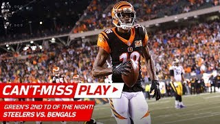 Andy Dalton & A.J. Green's Clutch TD Connection Before Halftime! | Can't-Miss Play | NFL Wk 13