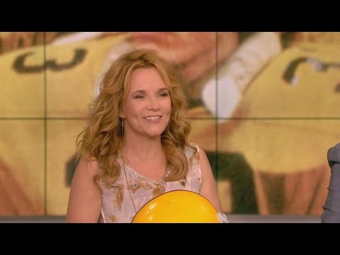 Lea Thompson Gets a Blast From Her Past