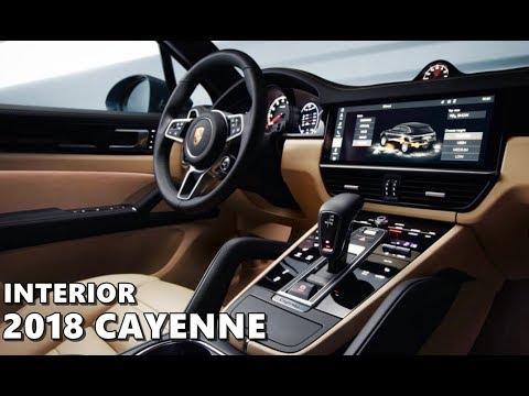 2018 Porsche Cayenne Interior Leaked