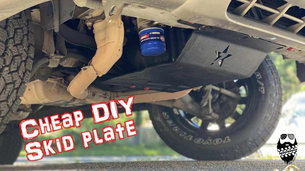 DIY Skid plate made from Reused JEEP parts for my Subaru Forester