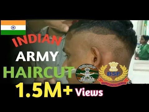INDIAN ARMY HAIRCUT !!! ARMY HAIRCUTTING  !!! INDIAN ARMY HAIR CUTTING!INDIAN ARMY!MILITARY HAIRCUT
