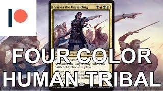 Commander Deck Tech: Saskia Human Tribal(Patreon Request)
