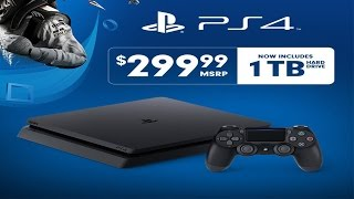 The 500GB PS4 Is Being Replaced With A 1TB Model. HALLELUJAH!