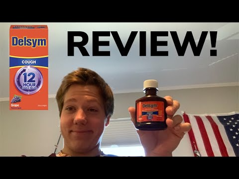 Review: Delsym Cough Syrup Grape Edition