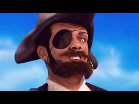 Lazy Town Deutsch | Ihr Seid Piraten | Musikvideo