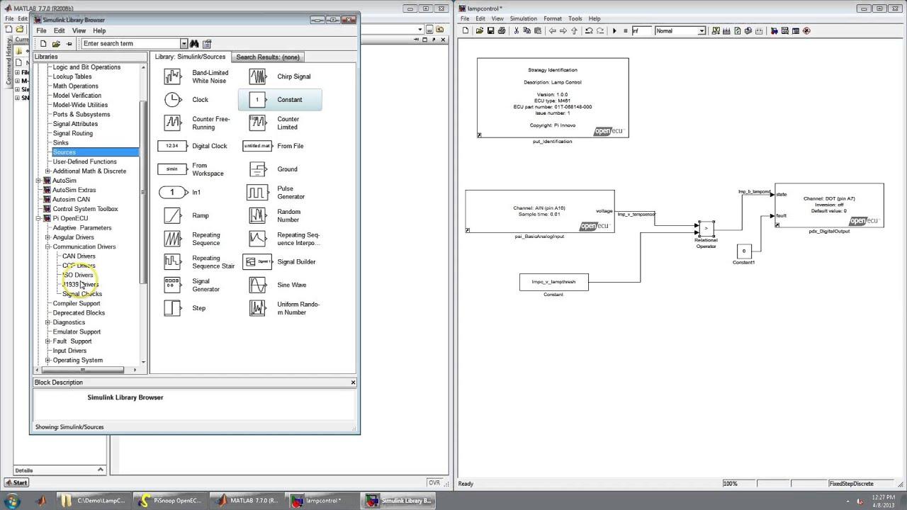 OpenECU Developer Platform Sim-API - Pi Innovo