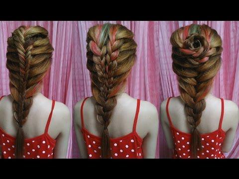 Hairstyles - 3 Kiểu Tết Tóc Công Chúa Đẹp Lung Linh