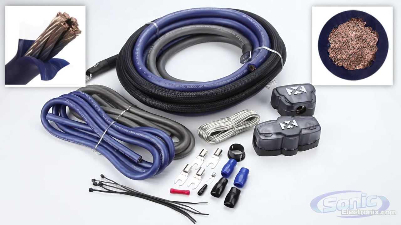 NVX Amplifier Install Kits | Oxygen Free Copper for Maximum Power ...