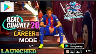 FINALLY REAL CRICKET 20™ MEGA UPDATE CAREER MODE WORLD CUP 2020 AND NEW STEDUIM