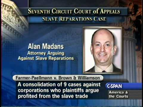 Slave Reparations Case Oral Arguments