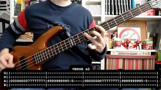 LOS SUAVES - Dolores se llamaba Lola (bass cover w/ Tabs)