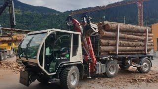 Schiltrac Forst - Wirtschaft mit Sattelauflieger