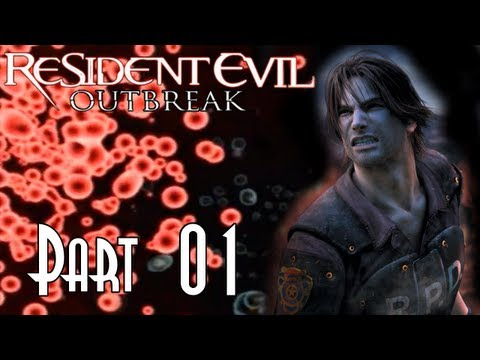 Alonzorion Blindly Plays Resident Evil Outbreak: File #1 & #2!