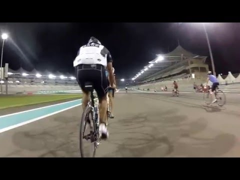 Cycling at Yas Marina Circuit - F1 Grand Prix Cicuit - Abu Dhabi