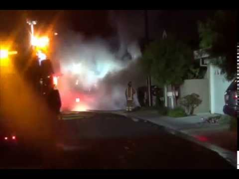 Structure Fire with Fireground Radio Traffic - Irvine, California - 9/5/14 (Part 2)
