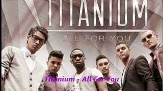 Watch Titanium All For You video