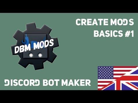 Create Mods: Basics #1 - Discord Bot Maker [ENG]