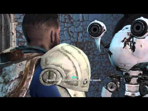Fallout 4 Mole Rat Disease Cure Austin And Yourself (Science Bobblehead )