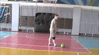 Зарядка в команды по мини футболу