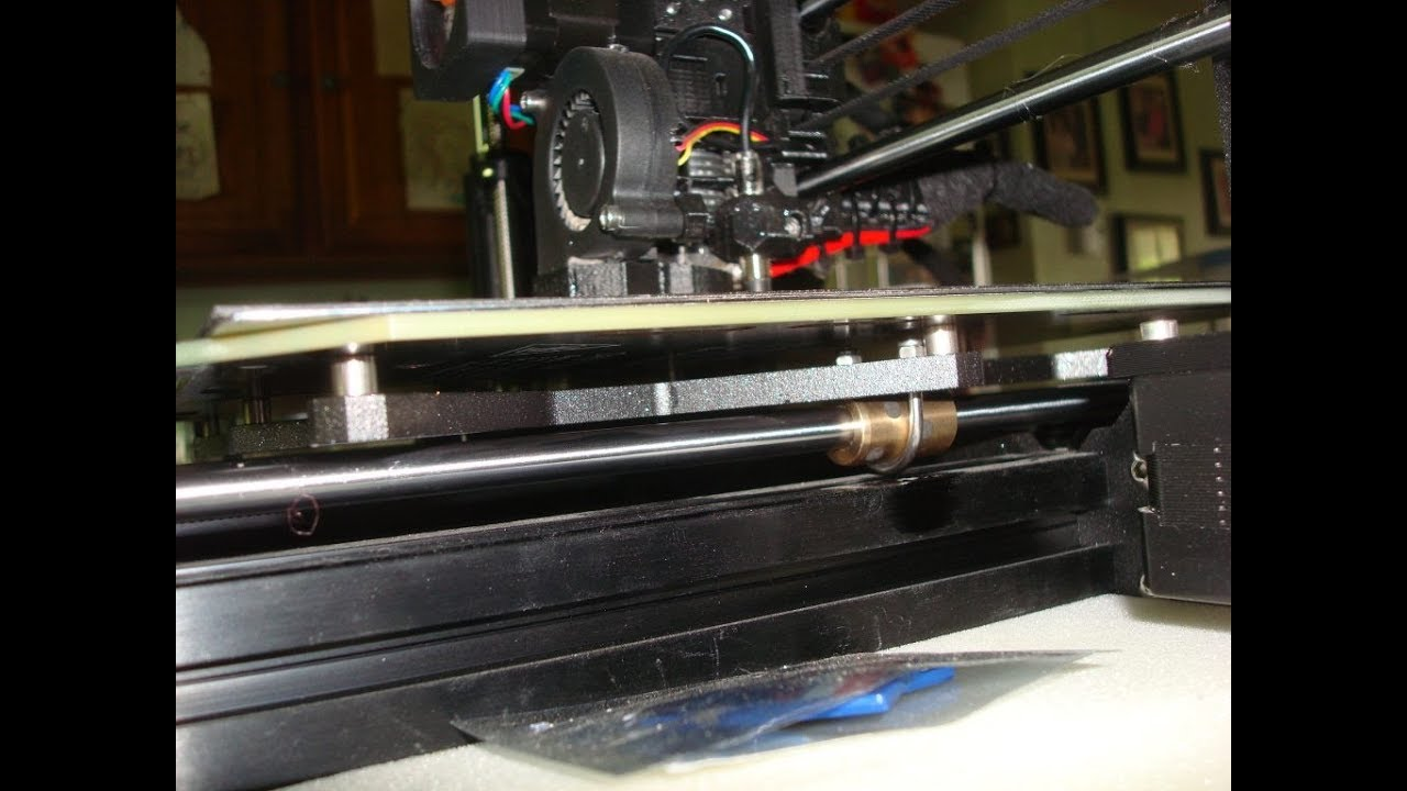 Add Ultimaker type Bushings to the Prusa MK3 bed for ultra quite mode