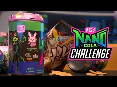 Suit Up for D Va's Nano Cola Challenge! - News - Overwatch