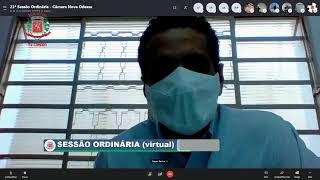 21ª Sessão Ordinária (virtual) - 21/09/2020