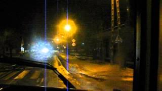 Nocny Przejazd przez Mordy PKS Łosice / Autosan Lider Midi