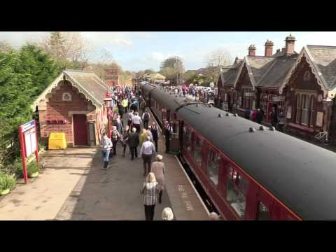 'Flying Scotsman' - Settle and Carlisle reopening special - 31 March 2017