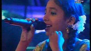 Shakthi TV Junior Super Star Gloria Anne Divya 24-09-2011 Yedi Kallachi