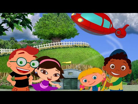 Little Einsteins - Last Episode - the music Robot from outer space  - Cartoon Emprores