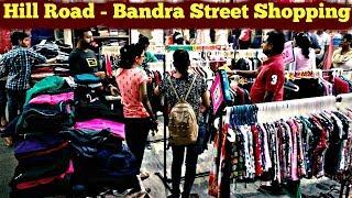 Bandra Hill Road Shopping Haul Style on a budget : Street market in Mumbai