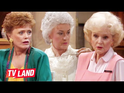 'Maybe He Just Doesn't Like Her' 😲 Top 10 Shady As Hell Golden Girls Moments | TV Land