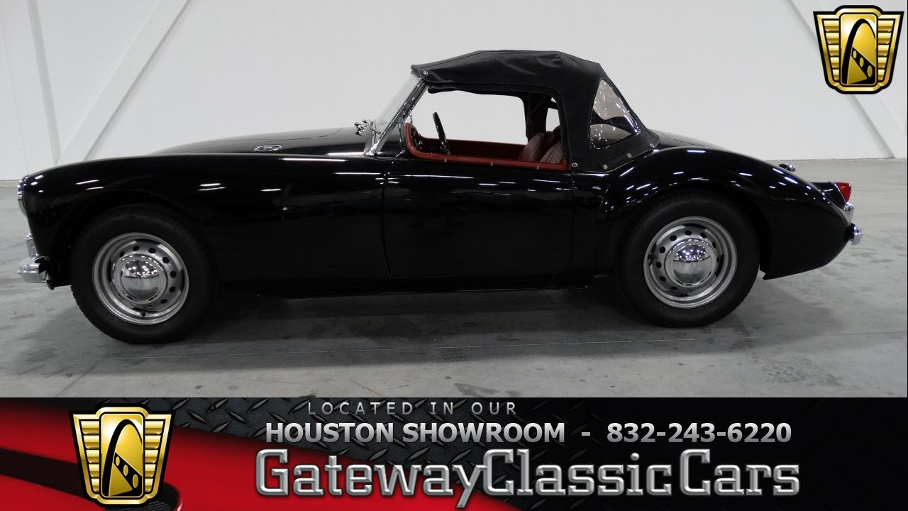 1959 MG MGA Houston Texas