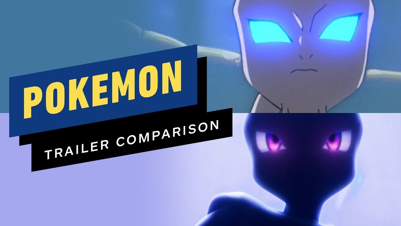 Pokemon The First Movie Mewtwo Strikes Back 1999 Vs 2019 Remake