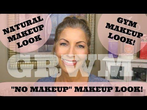 No Makeup Makeup Look - Natural Makeup Look - Gym Makeup Look - GRWM - Drugstore