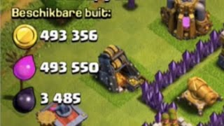 Clash of Clans Over A Million Of Loot stolen In One Attack Using LavaLoonion!