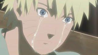 لحظة علم ناروتو بموت جيرايا حزين جدا