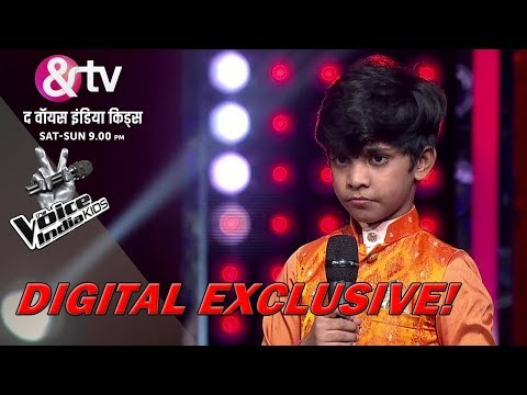 Coach Himesh Tries To Pull Fazil's Leg | Moment | The Voice India Kids - Season 2