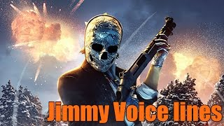 Payday 2 Jimmy Pager Voice lines
