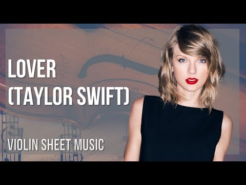 EASY Violin Sheet Music: How to play Lover by Taylor Swift thumbnail