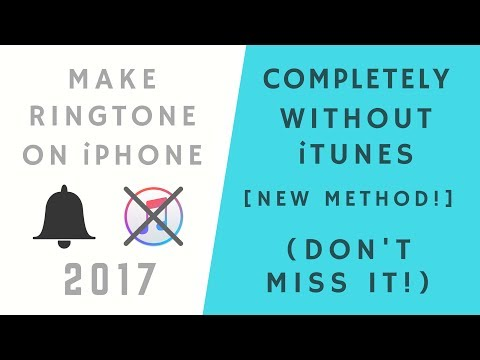 How to make ringtone (completely!) without iTunes (New method!)