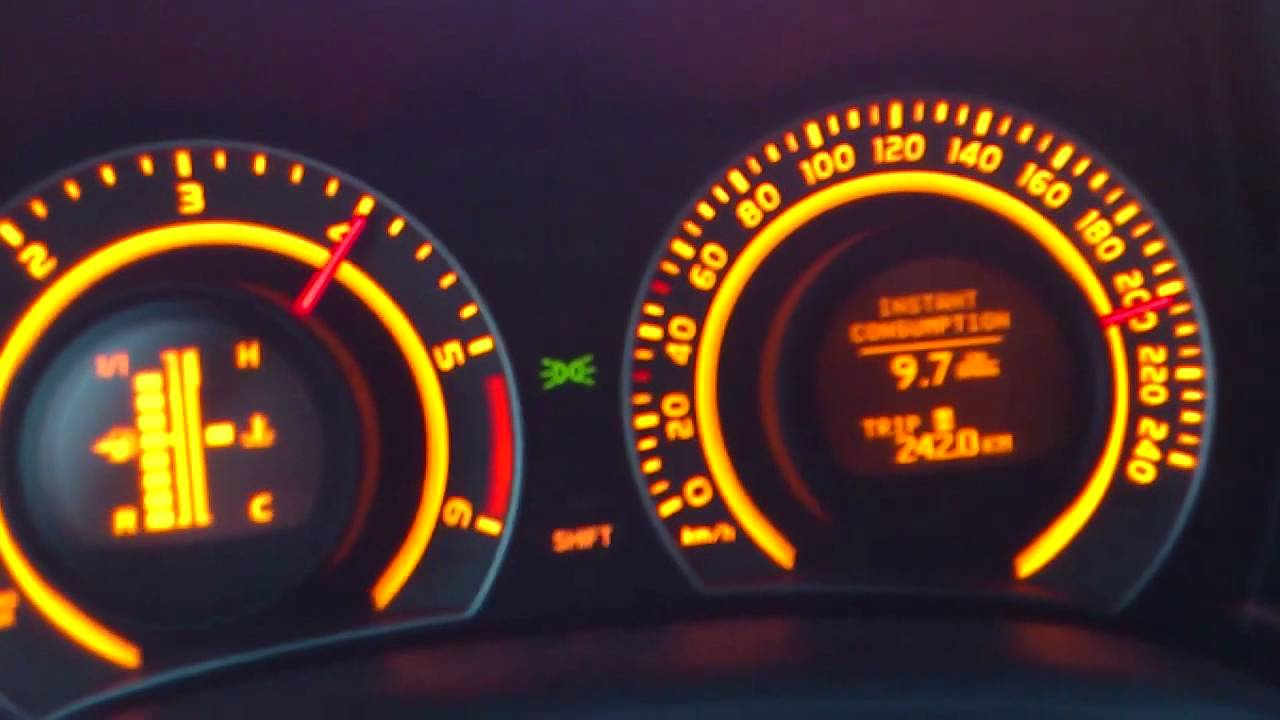 Toyota Corolla 1 4 D4d Top Speed 215 Kmh Youtube