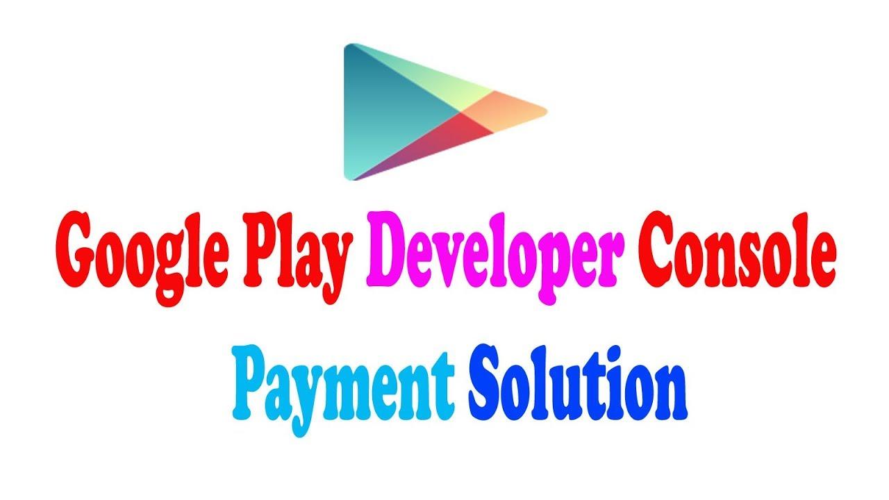 google play developer console fee
